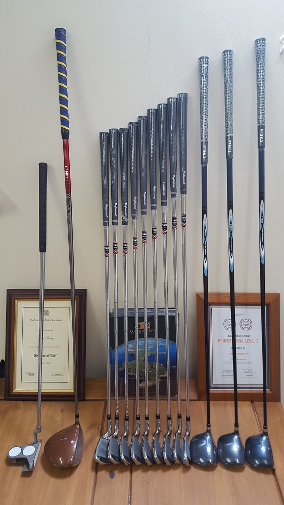 Golf Clubs and golf lesson deal