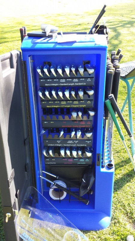 Mizuno Golf Club custom fittings
