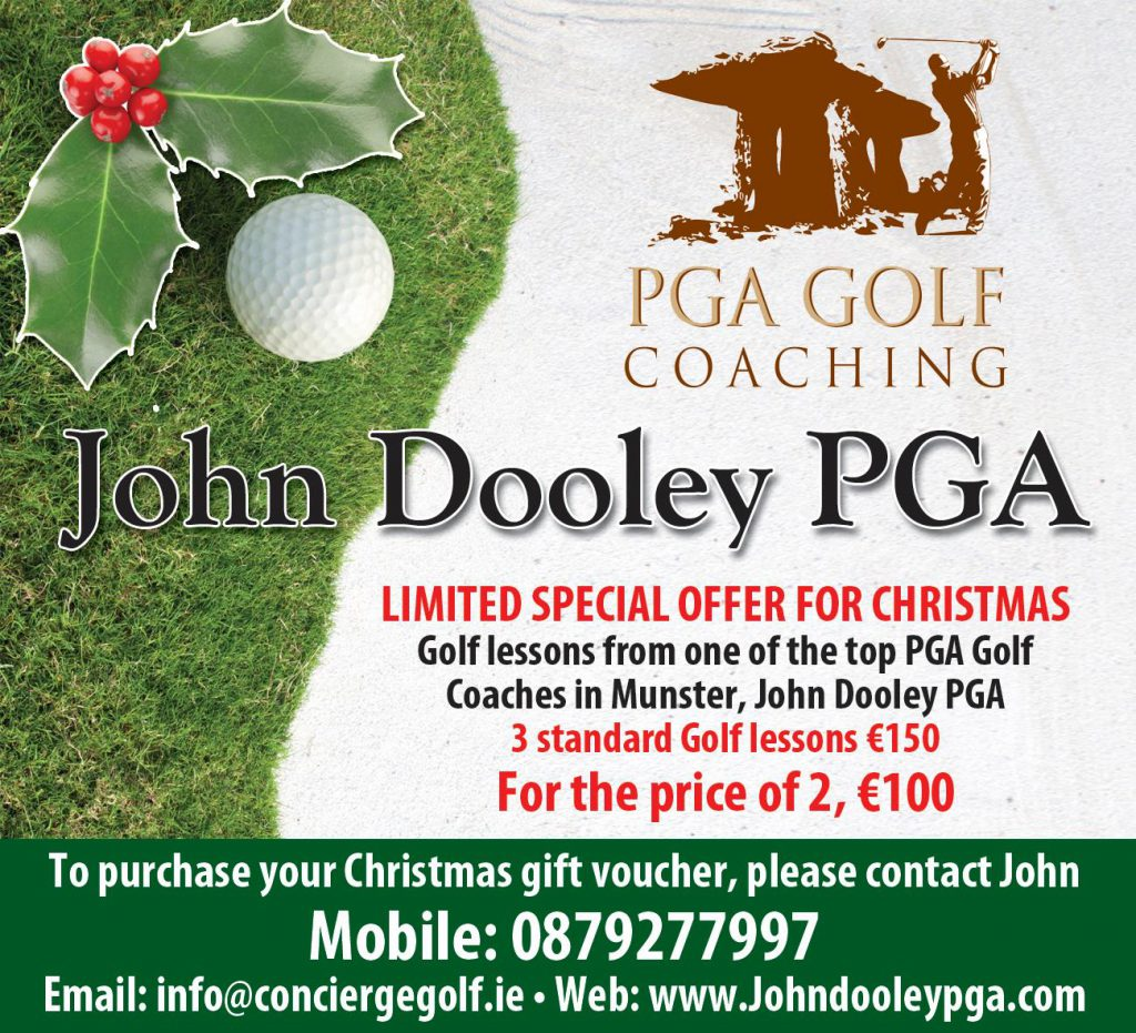 Christmas Cork Golf Lessons