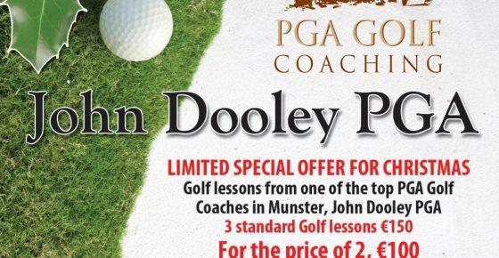 Christmas Cork Golf Lessons