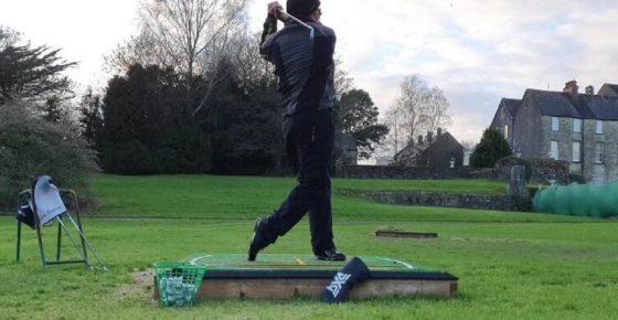 Lockdown Golf Swing Practice